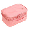 Image of Double Layer PU Cosmetic Travel Makeup Bag