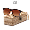 Image of Handmade UV Wooden Bamboo Sunglasses