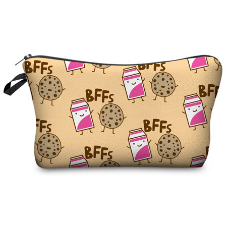 3D Magic Small Makeup Bag Cosmetic Pouch