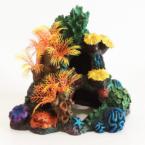 Coral Rock Ornaments Aquarium Fish Tank Decorations