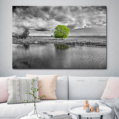 Tree Landscape Decor Canvas Wall Art