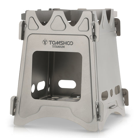 Titanium Lightweight Folding Portable Backpacking Stove