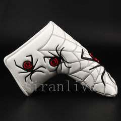 Spider Black White Blade Putter Golf Head Covers