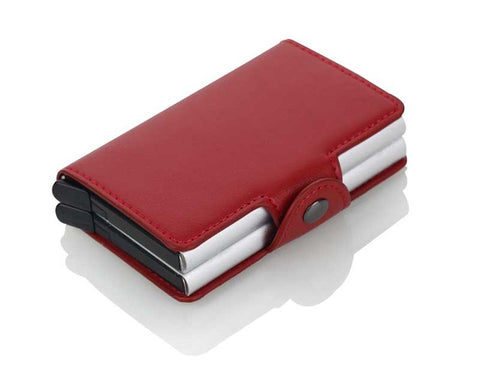RFID Card Holder Money Clip Clamp Slim Minimalist Wallet