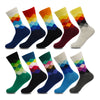 Image of 10 Pairs Colorful Casual Happy Cool Funny Socks