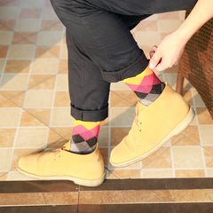 10 Pairs Colorful Casual Happy Cool Funny Socks