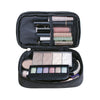 Image of Double Layer Cosmetic Travel Makeup Bag
