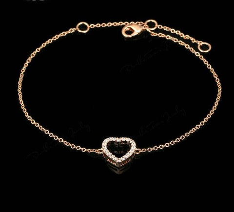 Love Heart Grandma Jewelry Bracelet