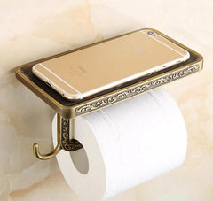 Antique Top Space Toilet Paper Holder