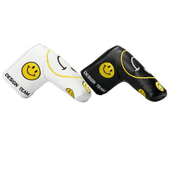 Smiley Face Smile Putter Golf Head Covers