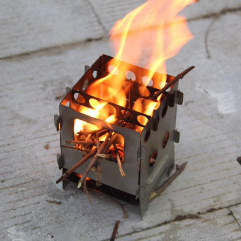 Outdoor Folding Lightweight Portable Backpacking Stove