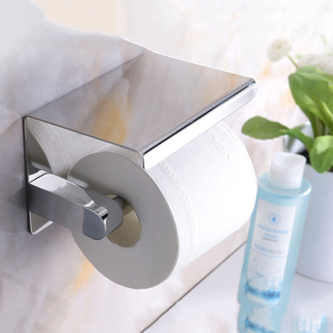 Chrome Mirror Toilet Paper Holder