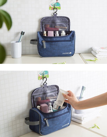 Makeup Organizer Cosmetic Hanging Toiletry Bag