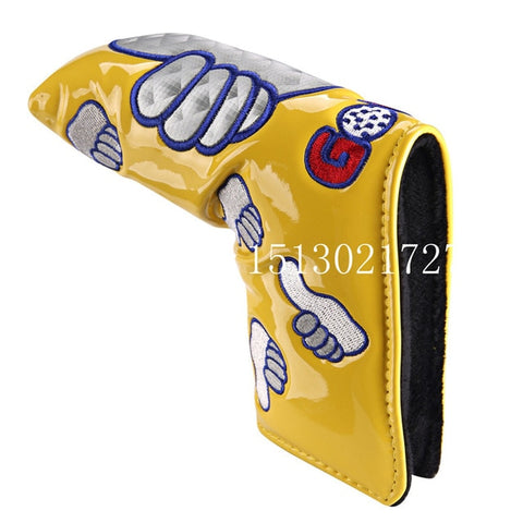Thumb PU Blade Putter Golf Head Covers