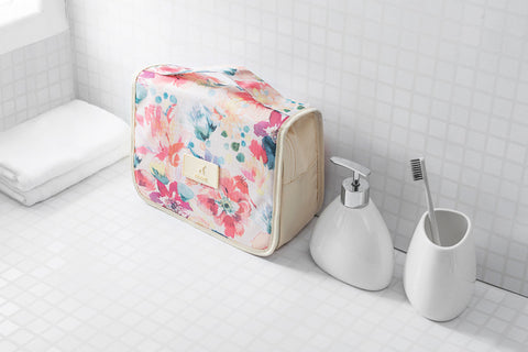 Cute Travel Organizer Cosmetic Hanging Toiletry Bag
