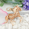 Image of Crystal Unicorn Keychain
