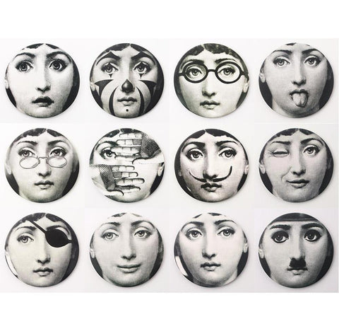12Pcs Cool Italian Women Decorative Fridge Refrigerator Magnets