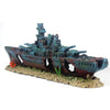 Image of 19inch Large Warship Ornaments Aquarium Fish Tank Decorations