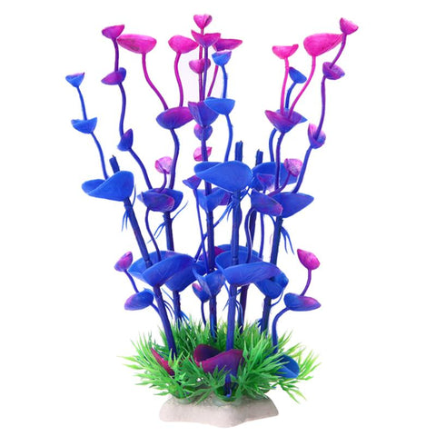 Artificial Plant Ornaments Aquarium Fish Tank Decorations