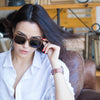 Image of Black Walnut Wooden Bamboo Sunglasses