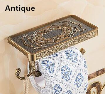 Luxury Antique Toilet Paper Holder