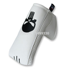 Skull Magnetic Closure Blade Putter Golf Head Covers