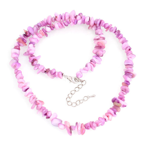 Colorful Chip Beads Jewelry Coral Necklace