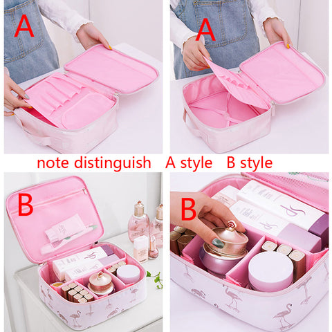 Organizer Cosmetic Travel Makeup Bag