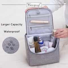 Large Waterproof Travel Cosmetic Hanging Toiletry Bag