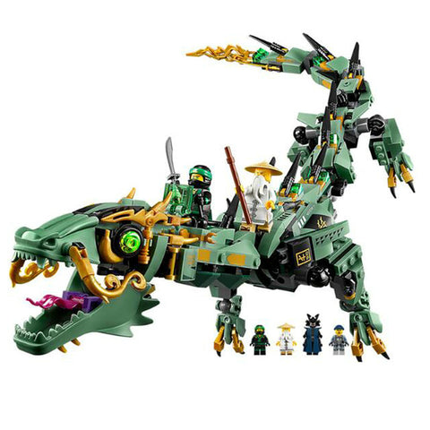 Ninja Dragon Model Building Blocks
