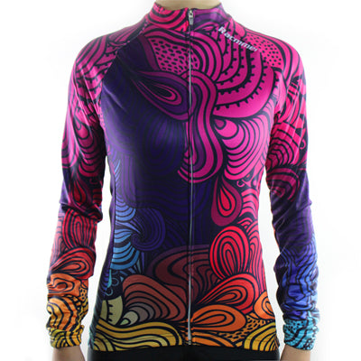 Thermal Winter Long Sleeve Clothing NZ-02 Women Cycling Jersey