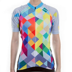 Breathable MTB Short Sleeve Clothing NS-11 Women Cycling Jersey