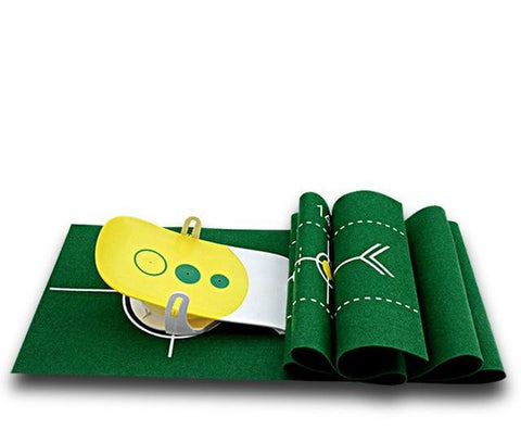 Indoor Putter Green Practice Golf Training Aids
