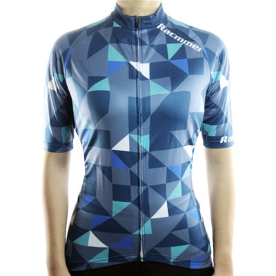 Breathable MTB Short Sleeve Clothing NS-01 Women Cycling Jersey