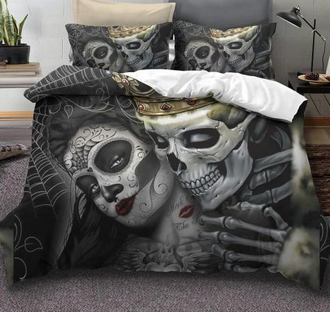 Kiss Skull Bedding Set
