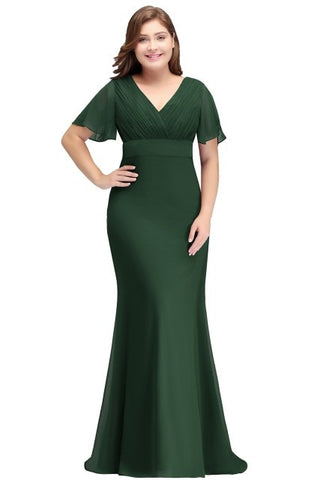 Long Modest Plus Size Formal Dresses
