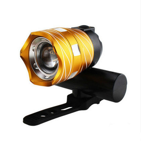 MTB Rechargeable Bicycle Lights Bike Headlight
