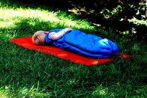 blue baby and toddler sleeping bag