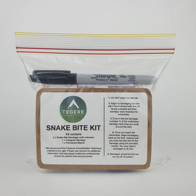 Image of Tegere Outdoors Snake Bite Kit.