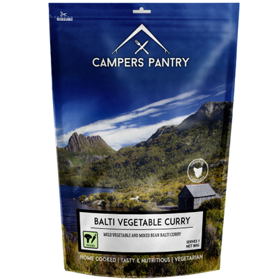 CAMPERS PANTRY - Balti Vegetable Curry