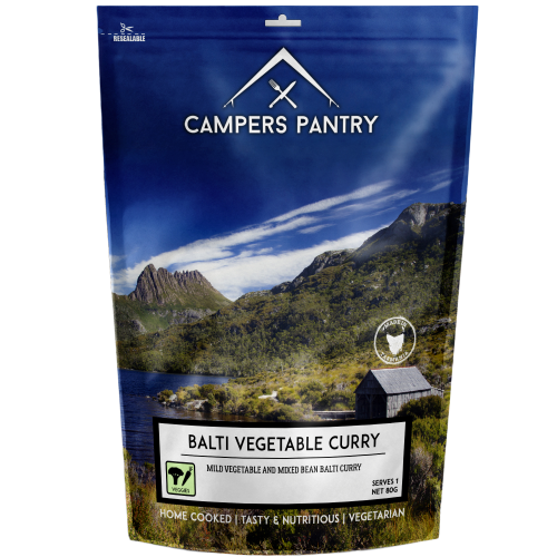 CAMPERS PANTRY - Balti Vegetable Curry Double Serve
