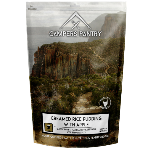CAMPERS PANTRY - Creamed Rice Pudding with Apple - Double Serve