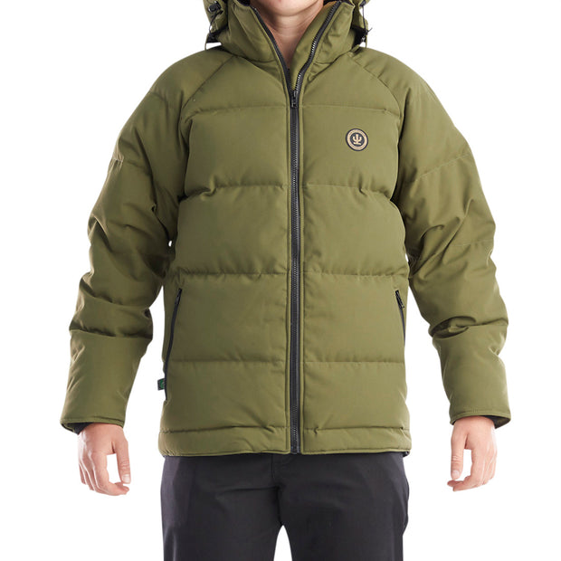 Cactus - Olive Green Down Jacket.