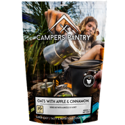 CAMPERS PANTRY - Oats with Apple and Cinnamon Double Serve