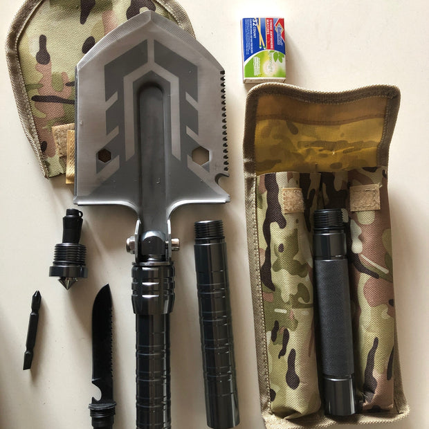 Folding Camping Shovel and Multitool