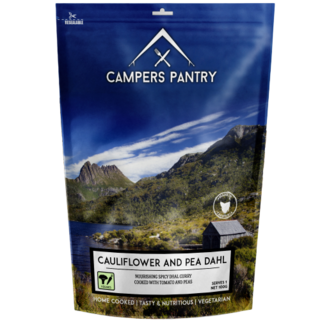 CAMPERS PANTRY - Cauliflower and Pea Dahl Double Serve