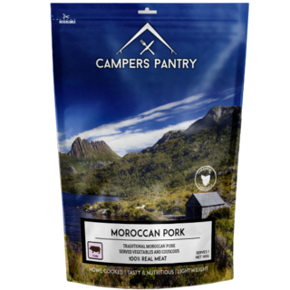 CAMPERS PANTRY - Moroccan Pork Double Serve