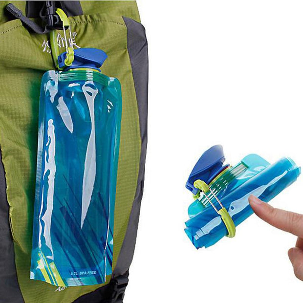 700ml Collapsible  Sports Water Bottle (BPA Free)