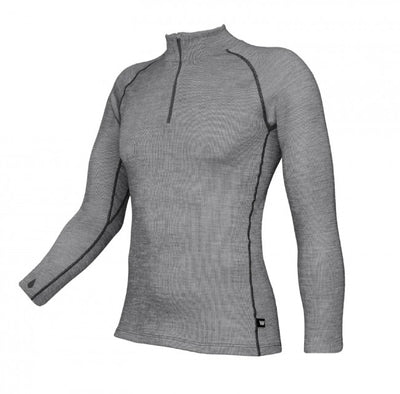 Wilderness Wear - Merino Fusion 190 Long Sleeve Zip Neck (Men)