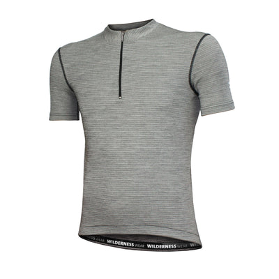 Wilderness Wear - Merino Fusion Light 160 Short Sleeve Cycling Jersey (Men)